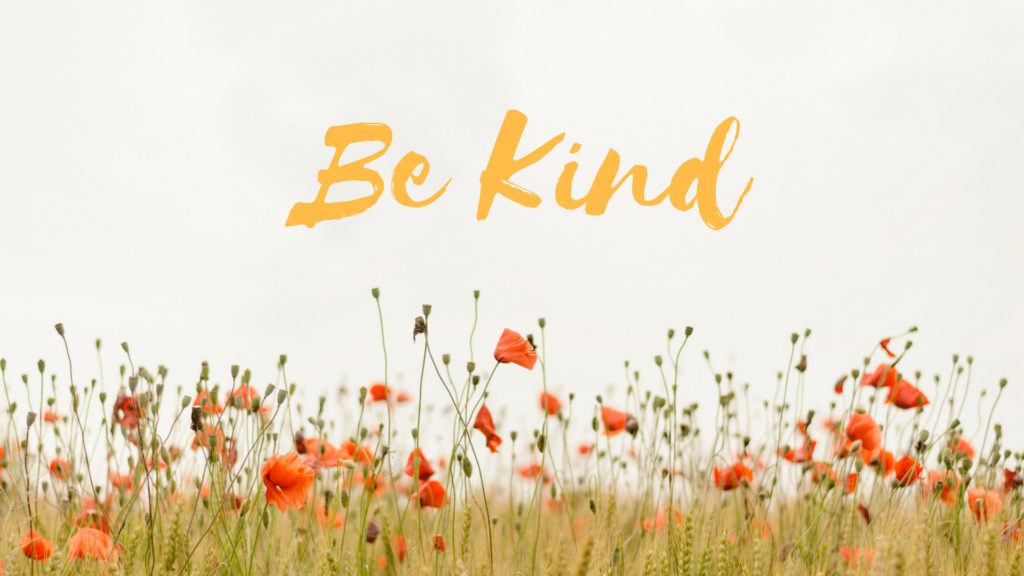 Be Kind {Free Desktop Wallpaper}
